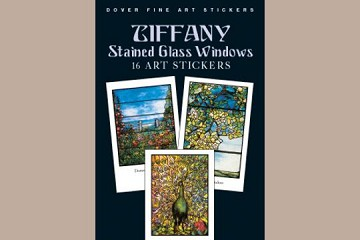Fine Art Stickers: Tiffany Stained Glass Windows