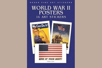 Fine Art Stickers: World War II Posters