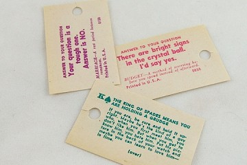 Vintage Fortune Slips - Packet of 3