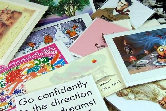Grab Bag of 10 Greeting or Note Cards