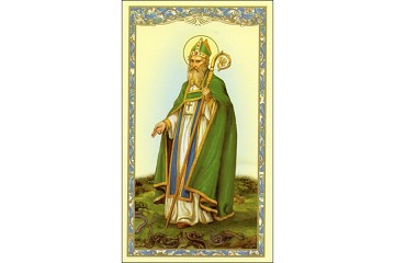 St Patrick Holy Cards - Package of 5 Prayer Cards