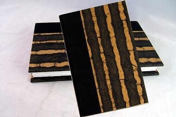 Brown Stripe Rag and Bone Bindery Journal