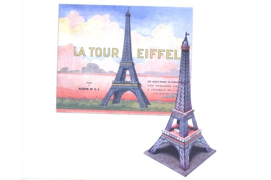 Build Your Own Eiffel Tower Kit