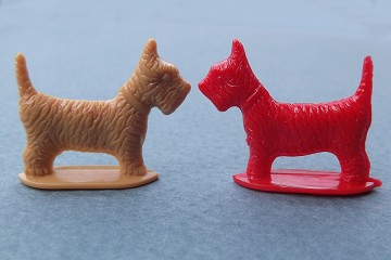 Vintage Miniature Brightly Colored Scottie Dog