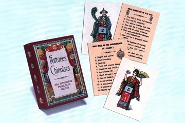 Parlour Card Game: Fortunes Chinoises