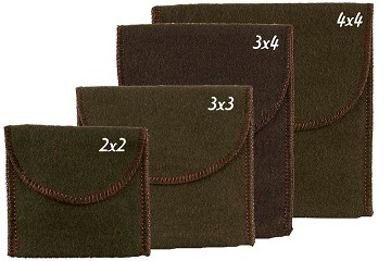 Anti-Tarnish Pouch with Flap Closure in 4 Sizes (2 new sizes)