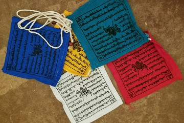 SilverCrow's Own Windhorse (Lung Ta) Prayer Flags