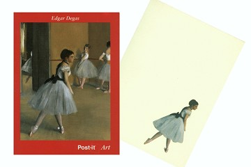 Degas Post-It Notes - Ballerina