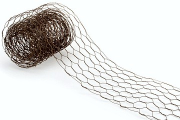Rusty Chicken Wire Roll
