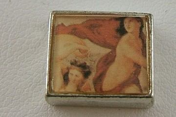 Bead Featuring a Classical Art Nude