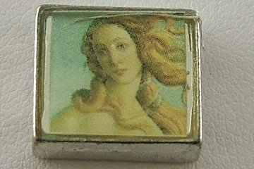Botticelli Photo Bead: Detail from the Birth of Venus (Close-Up of Venus Face)