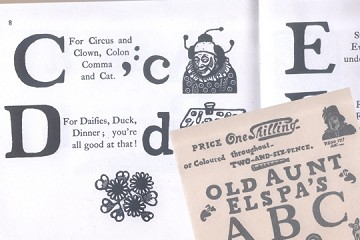 Facsimile Reproduction of Old Aunt Elspa's ABCs