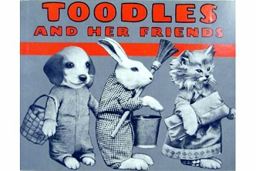 Nostalgic Children's Book - Toodles and Her Friends