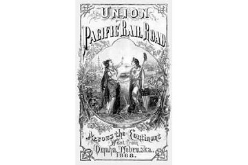 Book: Union Pacific Railroad: Across the Continent West from Omaha, Nebraska. 1868.