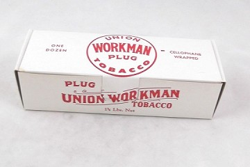 Vintage Tobacco Box - Workman Plug