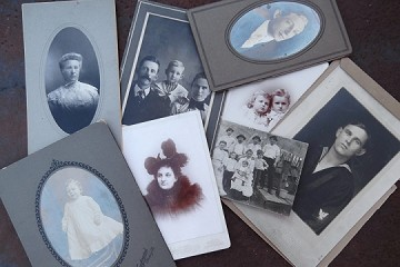 Vintage Cabinet Card and Other Old Photographs - Price Differs Per Photo