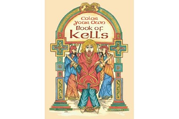 Coloring Book Color Your Own Book of Kells (with Free Mini Box of Crayons)