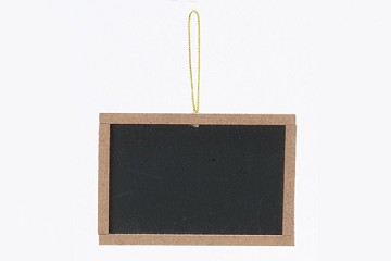 Miniature Chalk Board with Wooden Frame