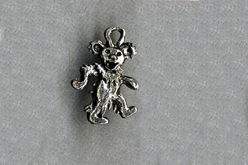 Grateful Dead Dancing Bear Charm