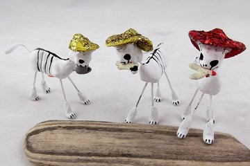 Day of the Dead Figures - el Gato (Cat)
