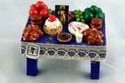 Day of the Dead Vignette - SMALL Ofrenda Table