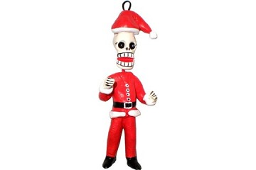 Day of the Dead Santa Claus Ornament