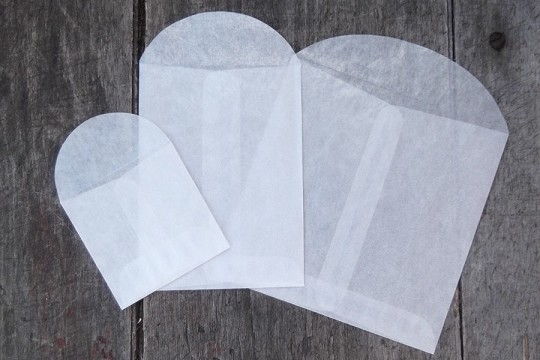 Archival Quality Glassine Coin Envelopes