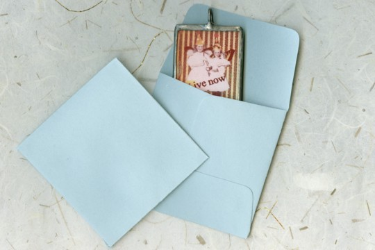 Mini 2-inch Blue Square Coin Envelopes - Package of 10