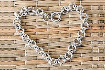 4-Inch Sterling Silver Chain Necklace Extender