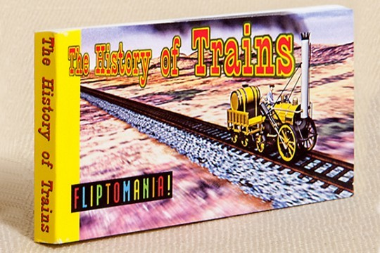 The History of Trains Old Fashioned Flipbook
