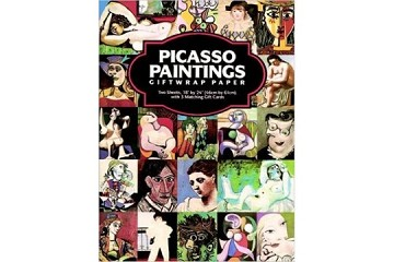 Picasso Paintings Giftwrap Paper - 2 Folded Sheets