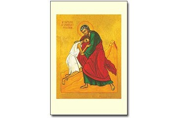Icon Style Holy Cards - Prodigal Son (Pay it Forward) - Package of 5