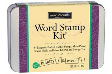 Magnetic Word Stamp Kit for Holidays and Events