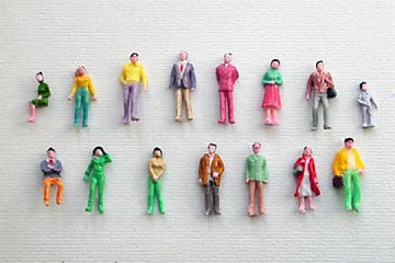 Package of 10 MEDIUM Little People to Help with your Projects