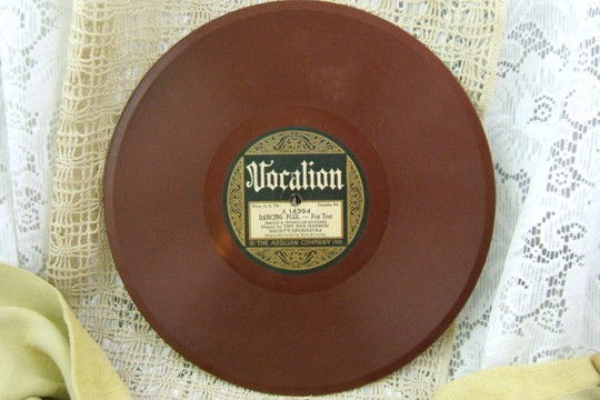 Moon River WALTZ - Vintage Vocalion Red 78 RPM Record