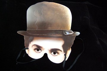 Paper Mask - Charlie Chaplin