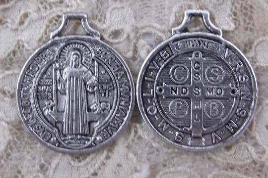 St Benedict Medal - Patron Saint Protecting from Poisoning