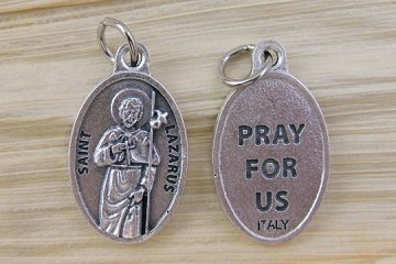Saint Lazarus Medal - In the Company of Dogs - Therapy Dogs