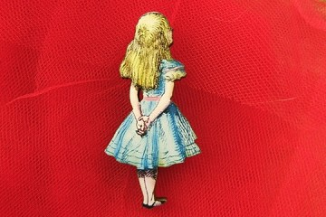 Alice in Wonderland Wooden Component