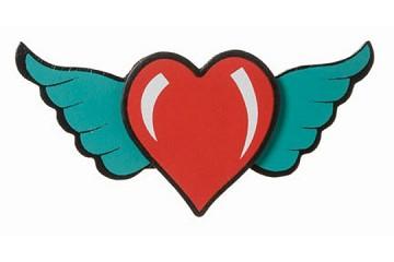 Wooden Rock 39 N Roll Heart Motif
