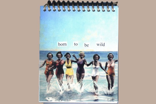 Soft Coil Bound Notebook - Born to be Wild