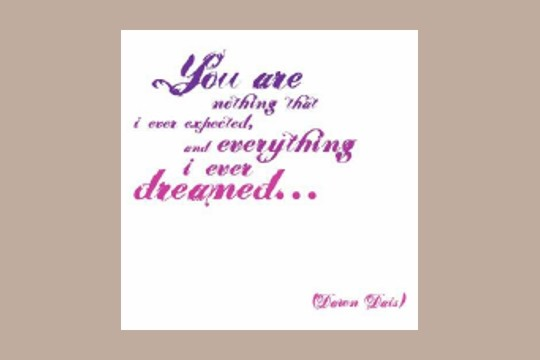 Note Card: You are everything