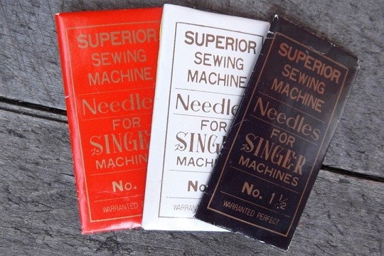 Vintage Superior Sewing Machine Needle for Singer Machines in Original Package