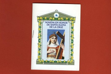 Spanish Language Booket - Novena - Santa Elena de la Cruz