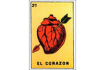 Art Postcard - El Corazon