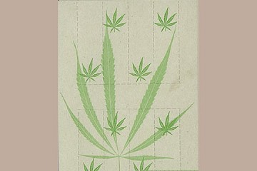 Art Postcard - Hemp Filter Card