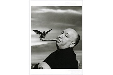 Art Postcard - Alfred Hitchcock, The Birds 1962