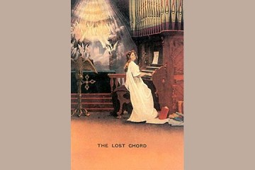 Art Postcard - The Lost Chord