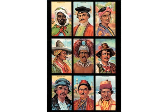 Art Postcard - Peoples of the World II