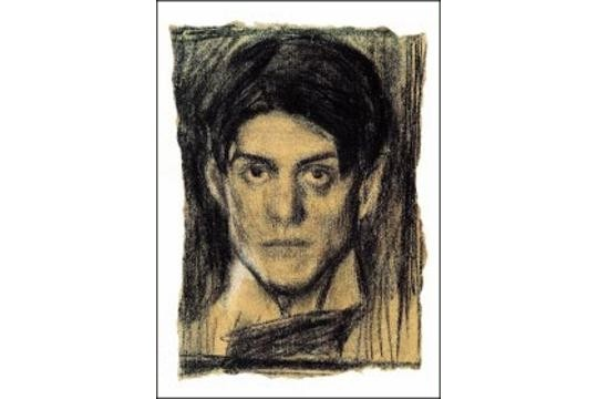 Picasso Self-Portrait Art Postcard